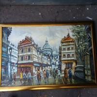Párizs , olaj vászon ,