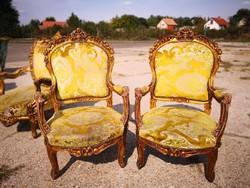 Francia antik barokk  fotelek !