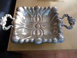 Dianás ezüst kínáló