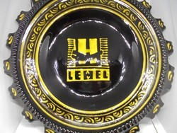 Lehel feliratú retro tányér