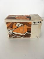 Philips elektromos kés és ollóélező - retro design ritkaság!