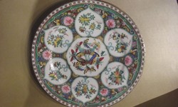 Festett, keleti porcelántányér