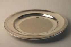 Vendéglői alpakka tálca, tányér