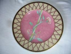 Eredeti  Rosenthal-BVLGARI gyönyörű porcelán tál, gazdag aranyozással, 18 cm