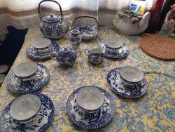 Jelzett Japán 6 személyes porcelán teás,kávés készlet