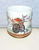 Japán porcelán dísztárgy