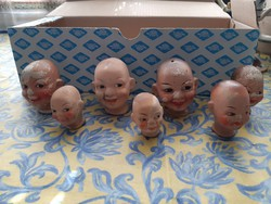 Kerámia babafejek (Annabelle)