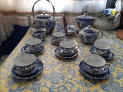 6 személyes Japán tojáshéj porcelán kávés,teás készlet!
