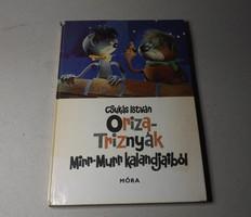 Csukás Istvan oriza triznyák Mirr Murr kalandjaból könyv