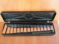 Retro orosz metalofon xilofon