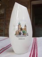 Retro Aquincum porcelán váza Debrecenből