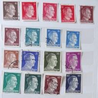 Németország (német bélyegek) az 1867-es időszaktól (58 darab)
