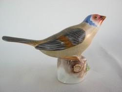 Herendi porcelán madár