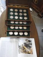 III. Birodalom -  Német Emlék Ezüst Érem Veretek - II. Világháború  50 db-os gyűjtemény UNC