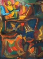 Károlyi Ernő - Nyári ragyogás I. 63 x 48 cm olaj, karton