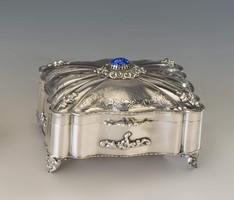 Olasz ezüst doboz