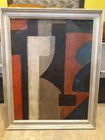 Kassák Lajos jelzesű olaj vaszon festmény eladó