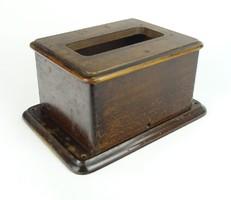 0S914 Antik távbeszélő készülék fa doboza