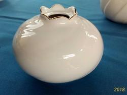 Freiberger gyönyörű porcelán  gyertyatartó/váza  8,5 cm magas