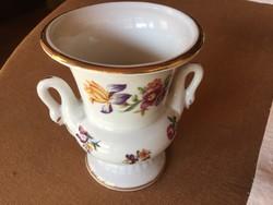 Hattyús váza, 9,8 cm-es, PM GDR