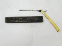 7930 Antik jelzett ZAORAL borotva tokjában