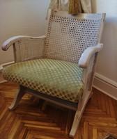 Vintage stílusban, chippendale fotel, kisméretű