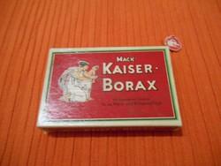 Mack Kaiser Borax, Eredeti Originált Dobozában