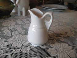 Antique porcelain spout, unmarked, likely zsolnay 11 cm