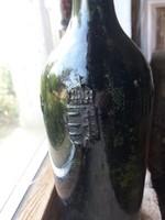 Magyar címeres üveg