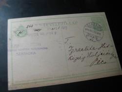 Levelezőlap   1914 ből