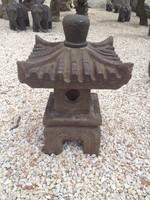 Igazi bazalt japánkerti pagoda. Örök darab. Fagyálló. keleti