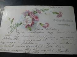 Levelező lap 1900 ból
