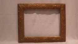 Antik szecessziós szép állapotú képkeret , falc 25x33 cm