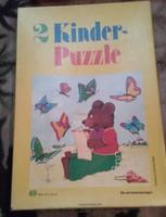 Gyerek puzzle  2 db mese kirakós hiánytalan !!