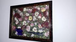Cora Erzsébet : Virágcsendélet 1965