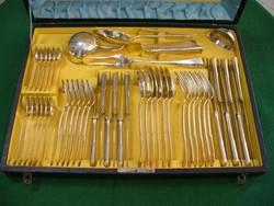 Ezüst étkészlet 6 személyes