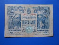 Szép 50 korona 1902