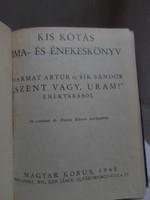 Kis kótás ima- és énekeskönyv (Magyar Kórus, 1945), katolikus