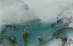 Lóránt János Demeter (1938 - ): Legyező horgász