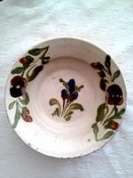 Szilágysági kerámia tányér, falitányér