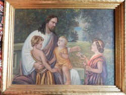 Krisztus gyerekek körében