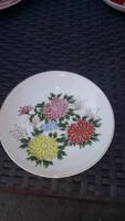 Japán antik kézzel festett jelzett tányér