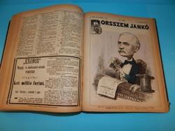 Borsszem Jankó eredeti 1872 teljes évfolyam bekötve
