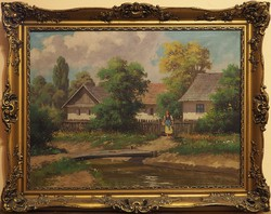 Barsi Béla (1872–1913): Falusi házak