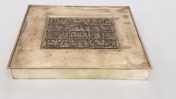 Tevan Margit Ötvösművész nagyméretű doboz
