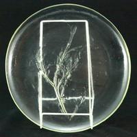 Humppila színtelen üvegtál