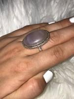 Mesés ezüst gyűrű 18mm átmero