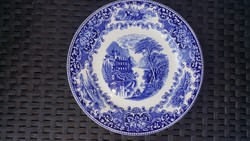Royal sphinx Dutch hand-painted plate
