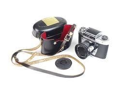 0T018 Régi analóg német EXA fényképezőgép