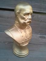 Ferenc József büszt. bikszvit porcelán
